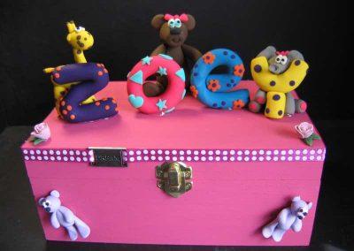 Zoey Keepsake Baby Box
